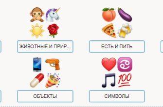 Apple - Смайлы Emoji - перевод на русский, новые Emoji