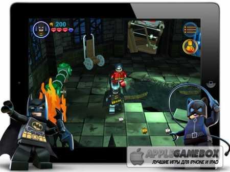 Обзор игры Batman для гаджетов на iOS. Геймплей, графика, особенности |