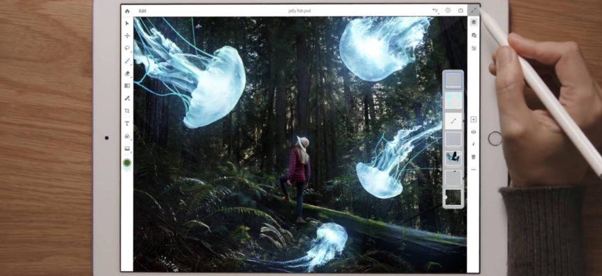 Вышел полноценный Photoshop для iPad — Wylsacom