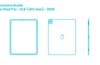 Apple iPad Air (4th Gen) - 2020 Dimensions & Drawings |