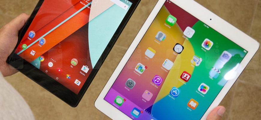 Чем Андроид планшет отличается от Айпада. Чем Android планшет отличается от iPad