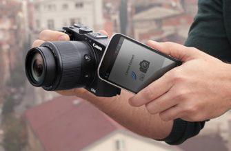 Дистанционное управление фотоаппаратом с iPhone/iPad |
