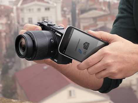 Дистанционное управление фотоаппаратом с iPhone/iPad  