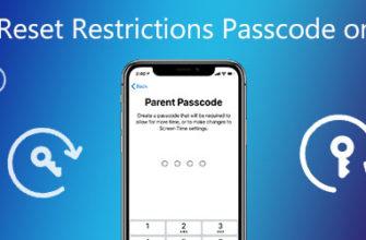 Учебник по удалению и сбросу пароля ограничений на любом iPhone
