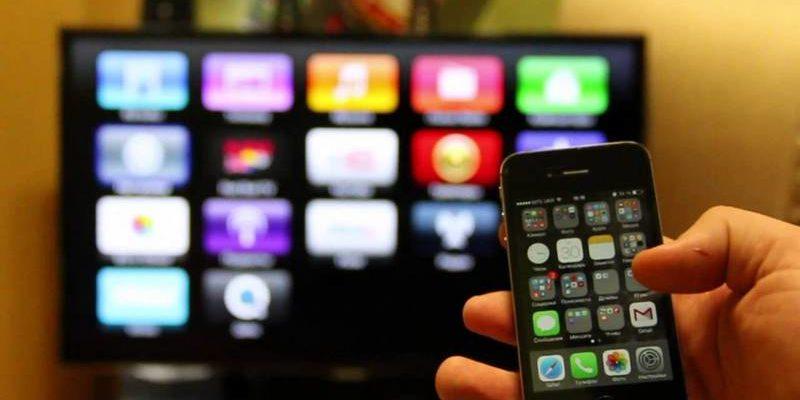 Как подключить айфон к телевизору через miracast