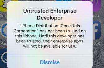 """[FAQ] Про меню """"Разработчик"""" в настройках iOS – Проект AppStudio"""