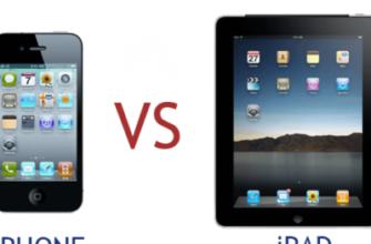 Чем отличается айфон от айпад – 4apple – взгляд на Apple глазами Гика