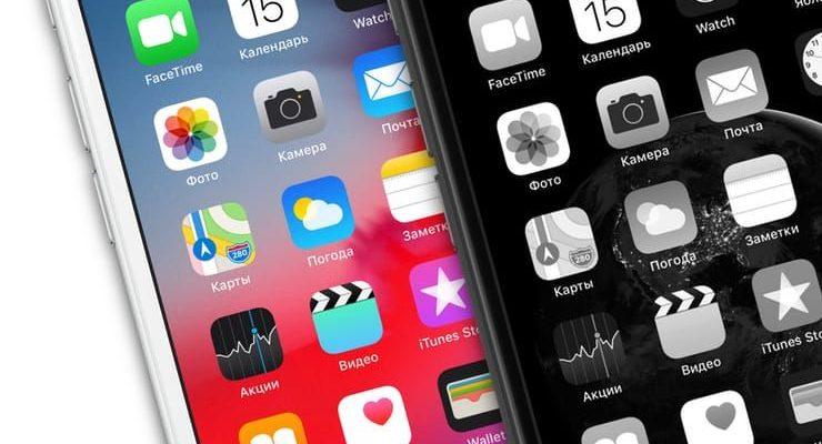Черно-берый экран iPhone: настройка монохромного режима