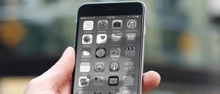 Черно-белый экран на Айфоне: как сделать и зачем это нужно?    Яблык