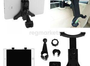 Автоаксессуары для iPad - автодержатели для айпад 2,3,4, зарядные устройства в машину, держатели