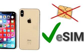 Что такое eSIM на айфоне – какие iPhone поддерживают еСИМ