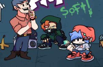 Friday Night Funkin Soft - играйте онлайн и разблокируйте