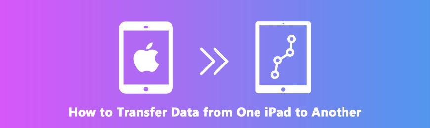 Как перенести отдельные или все данные с одного iPad на другой