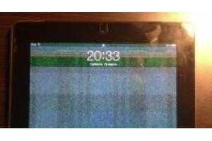 Мерцает экран ipad mini 2