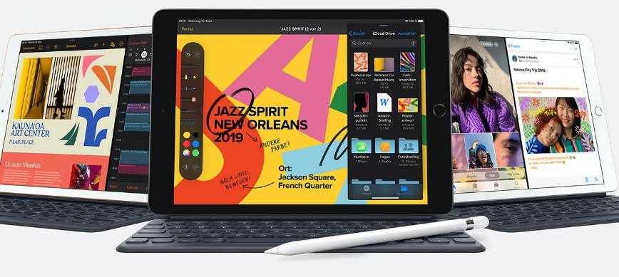 Новый iPad 8 (2020) и обновленный iPad Air