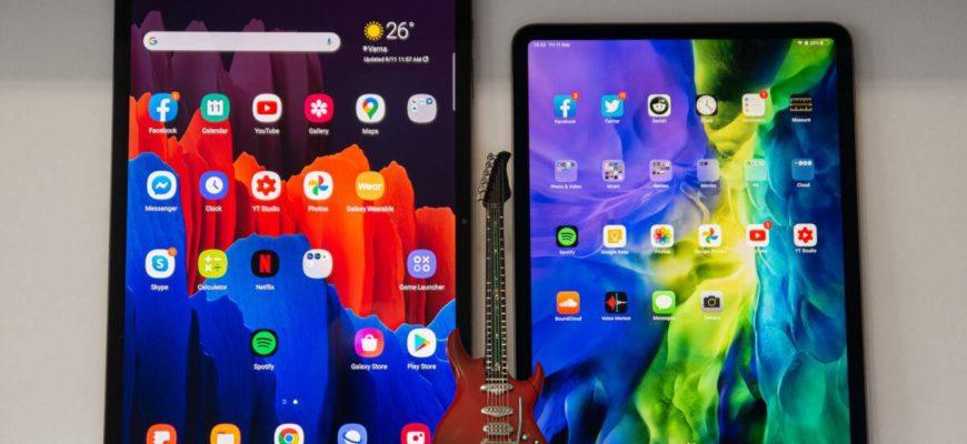 iPad 8-го поколения против Samsung Galaxy Tab A7 против Huawei MatePad 5G: сравнение характеристик • 4Dim