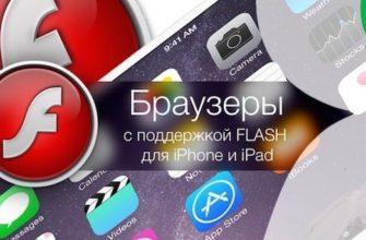 Flash player для iPhone
