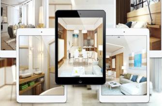 Дизайн интерьера - бесплатная программа для iPad Planner 5D