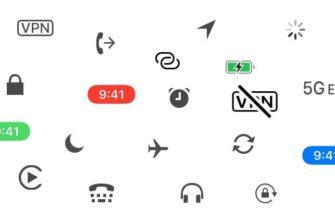Разъяснение всех значков в статус-баре (строке состояния) iPhone  | Яблык