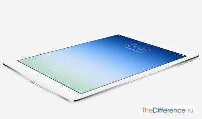 Сравнение iPad 4 и iPad Air