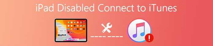Ошибка Отключено: iPad подключитесь к iTunes