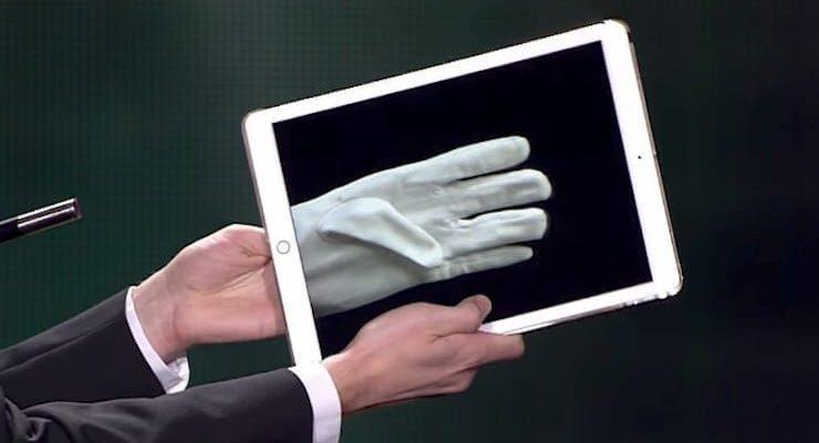 Магия Рождества с iPad.