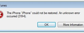 6 Ways to Fix iPad Can't Restore Error 3194