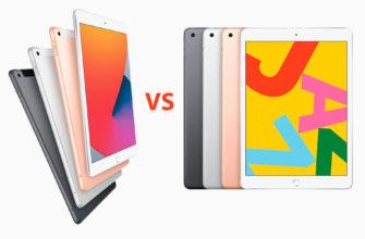 Сравнение Apple iPad Air (2019) и Apple iPad Pro 12.9 (2020)