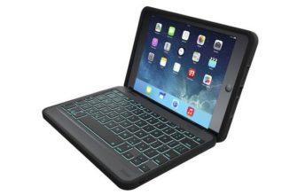 Zagg Rugged Folio — Bluetooth-клавиатура-чехол для iPad Air и iPad mini  | Яблык