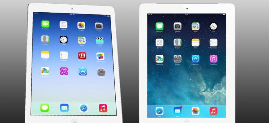 Сравнение iPad Air и iPad 4: стоит ли поменять планшет?
