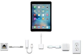 Адаптеры для iPad купить в каталоге оригинальных аксессуаров Apple.