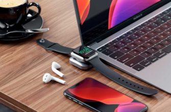 Как заряжать Apple Watch от iPad Pro или MacBook: обзор док-станции Satechi    Яблык