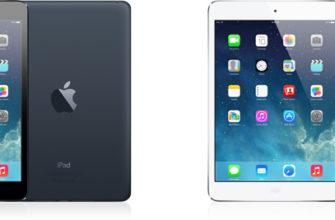 Определение модели iPad (iPad mini)
